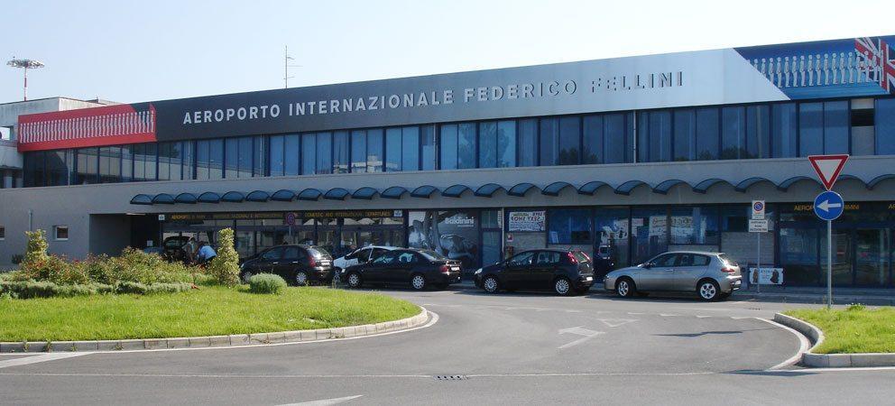 Aeroporto Fedrico Fellini a Miramare di Rimini