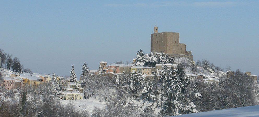 Montefiore Conca vicino a Rimini