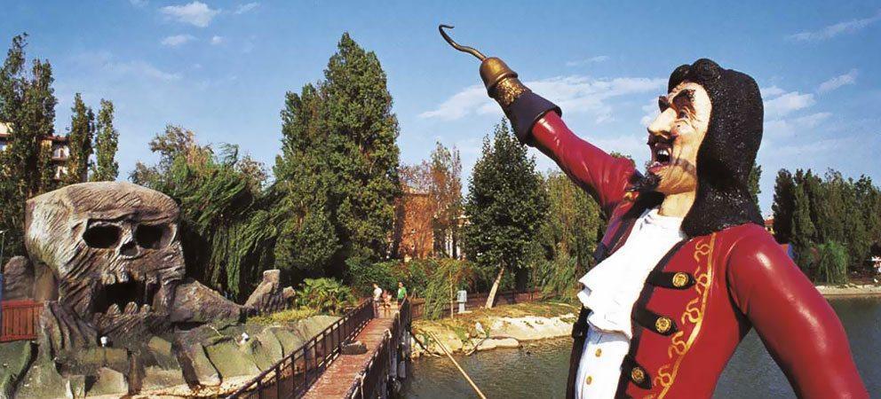 parco di Fiabilandia a Rivazzurra di Rimini