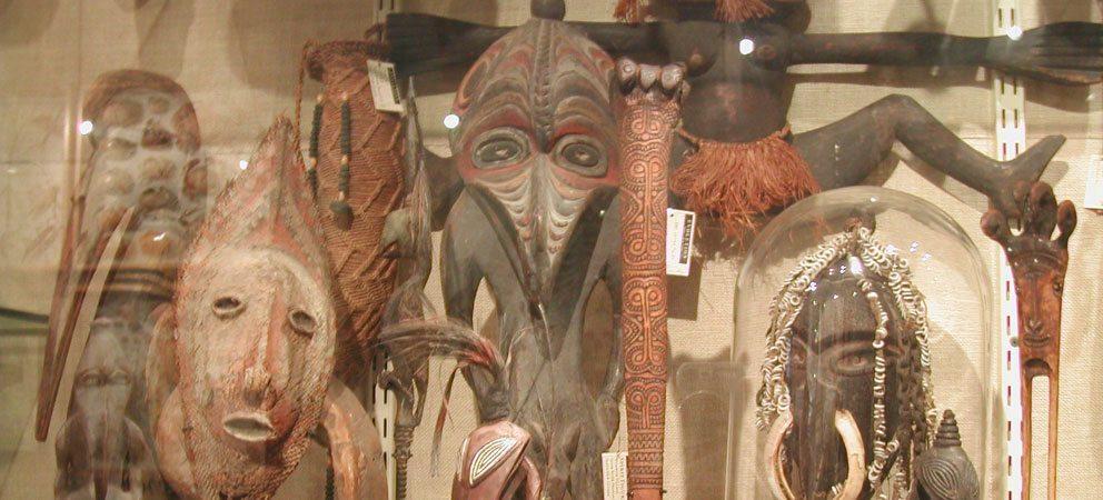 Reperti della Nuova Guinea
