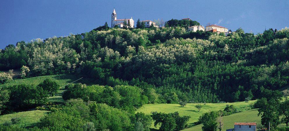 Valle del Verdena vicino a Rimini