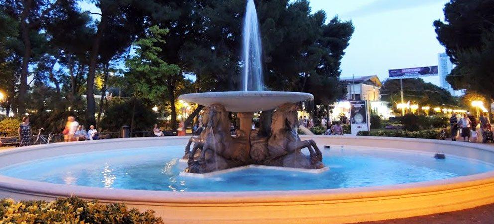 """La """"Fontana dei 4 cavalli"""""""
