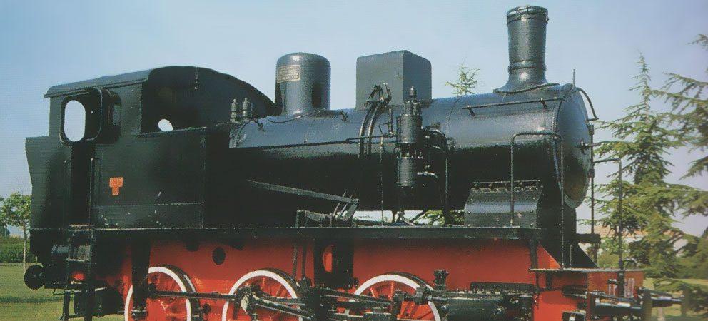 locomotiva treno parco Peep di Rimini