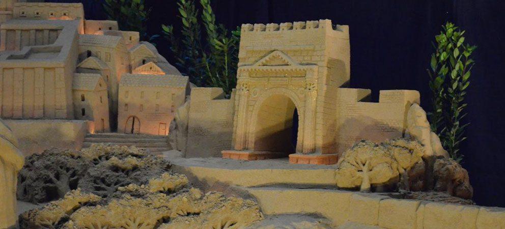 Presepe di sabbia Torre Pedrera