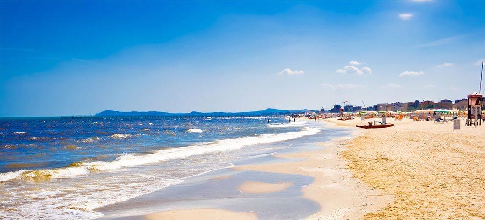 Le spiagge libere di Rimini
