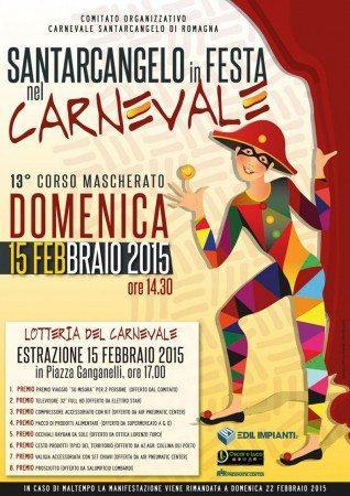 locandina carnevale di Santarcangelo
