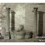 L'antico abbeveratoio in Piazza dé Consoli – Piazza Cavour