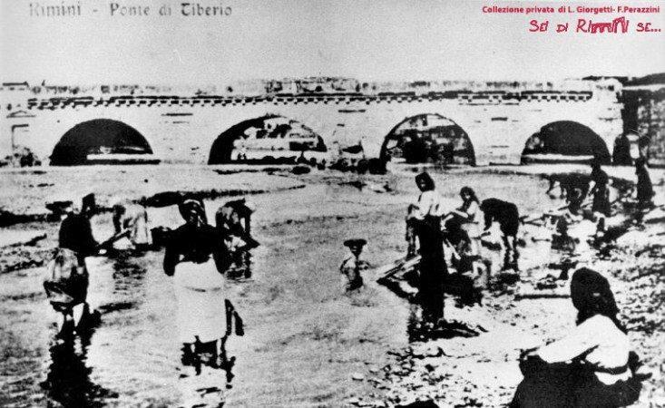 Lavandaie al Ponte di Tiberio
