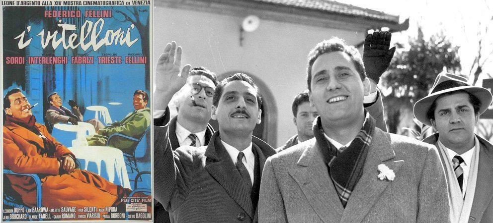 """""""I Vitelloni"""" di Federico Fellini e il cinema di Rimini"""