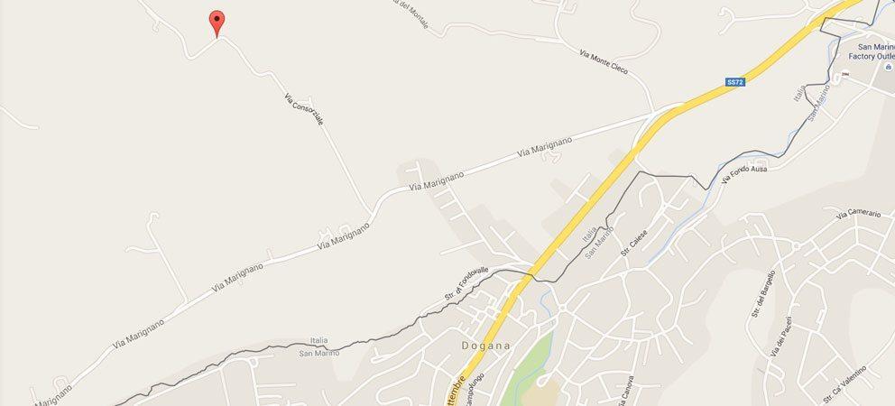 """Via Consorziale a Rimini che fu """"Le Grotte"""""""