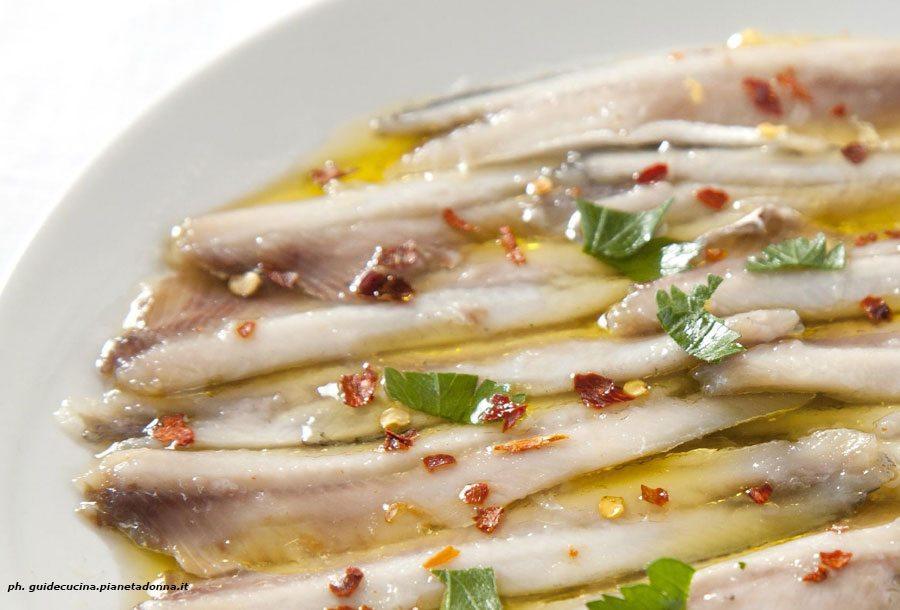 Alici Marinate | cucinare.it