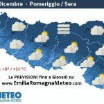 Previsioni meteo per Martedì 15 Dicembre 2015