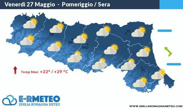 Previsioni Rimini dal 27 al 29 Maggio 2016