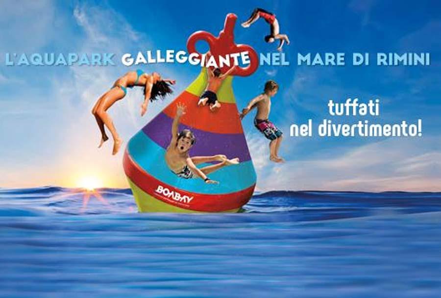 BoaBay è l'Aquapark Galleggiante di Rimini