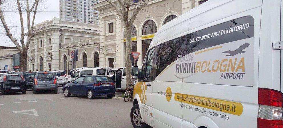 Navetta Rimini – aeroporto di Bologna