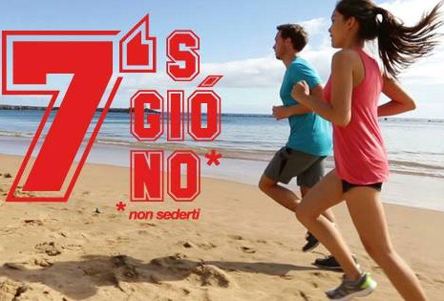 Corsa e alimentazione: 7's giò no a Rimini