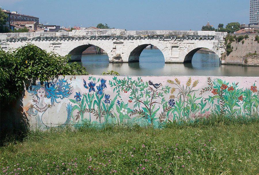 Storia del Muretto della Ninfa Tiberide