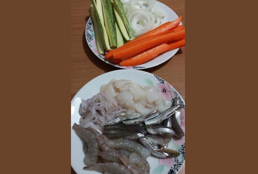 Ricetta Fritto Misto Di Pesce Con Verdure Ricetta Rivisitata