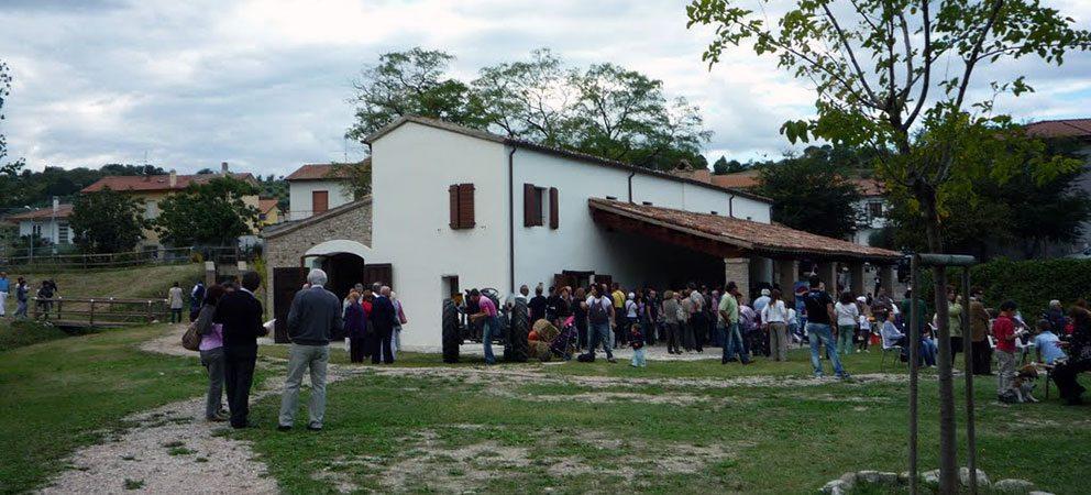Presepe di Pane al Museo Sapignoli