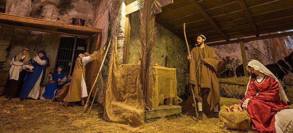Natale a Montefiore con trenino e presepe vivente