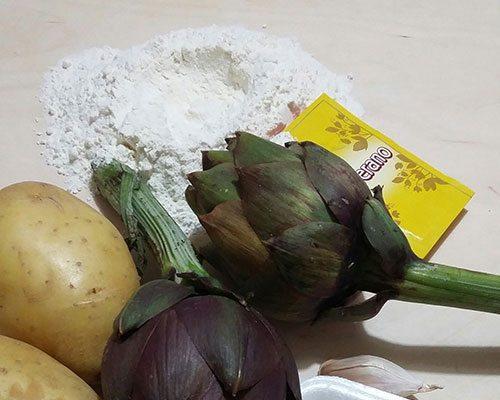 gnocchi-di-patate-ripieni-di-carciofi-ingredienti