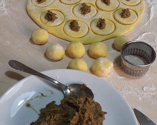 gnocchi-di-patate-ripieni-di-carciofi-preparazione