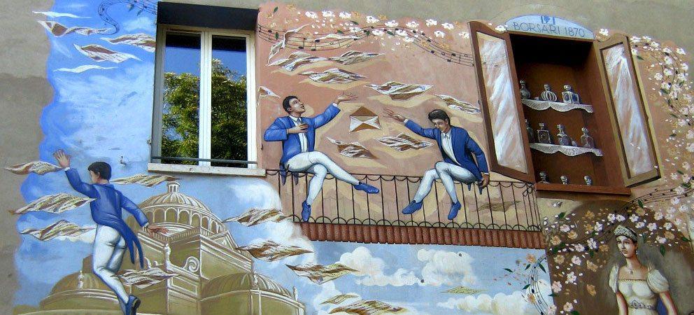 Saludecio: città dei muri dipinti