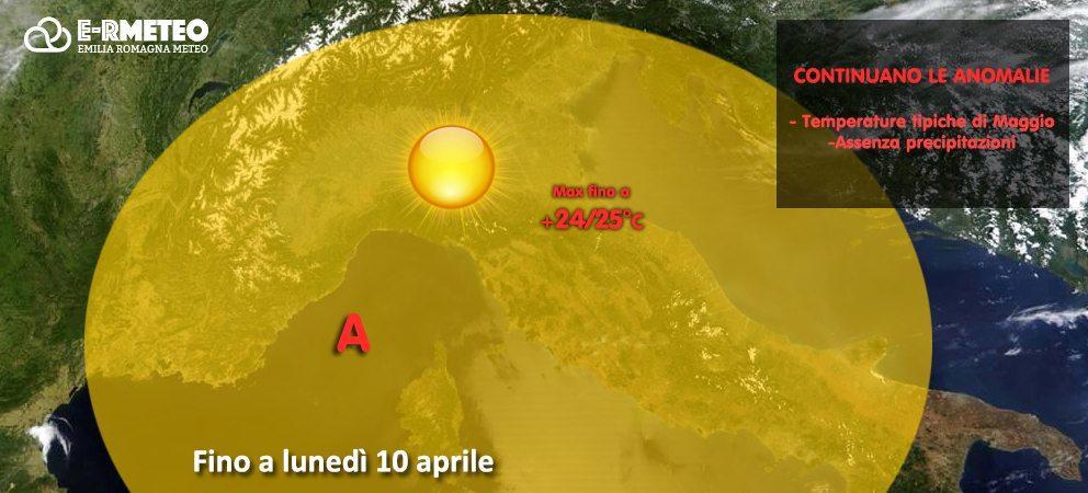 Previsioni meteo fino al 10 aprile 2017