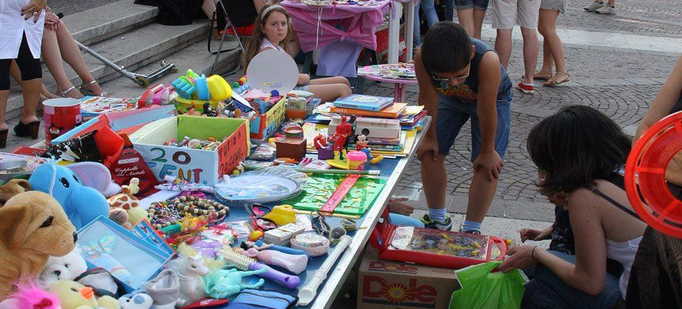 Mercatino dei bambini a Rimini