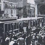 I primi collegamenti tram a Rimini