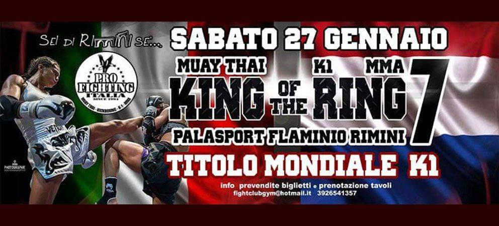 King Of The Ring 7 – 27 gennaio 2018 Rimini