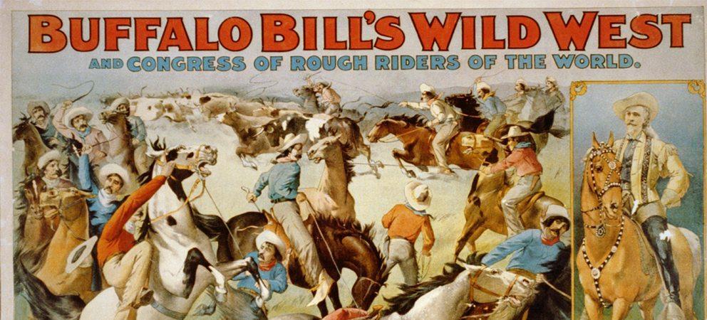 Il circo di Buffalo Bill a Rimini -11 Aprile 1906