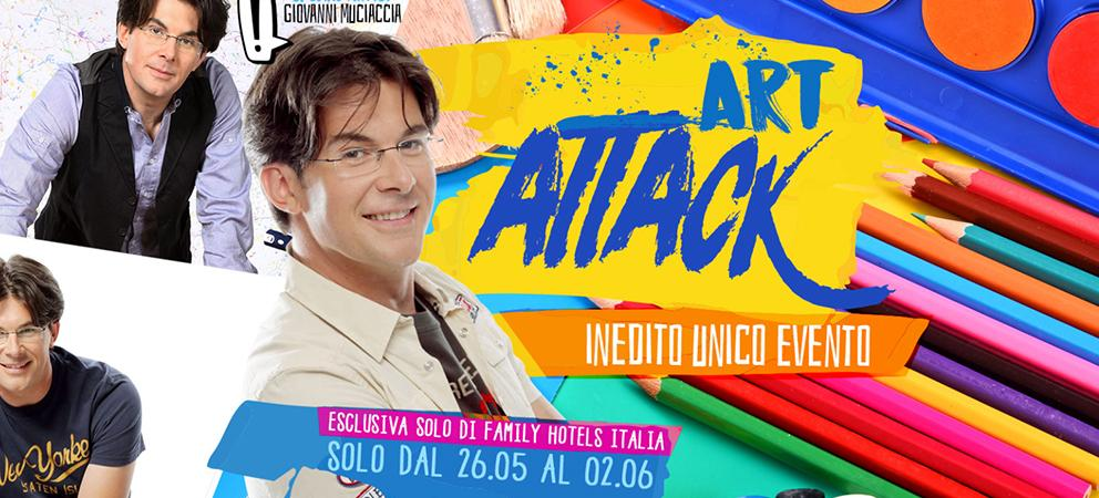 Art Attack Week - Family Hotel Continental Rimini