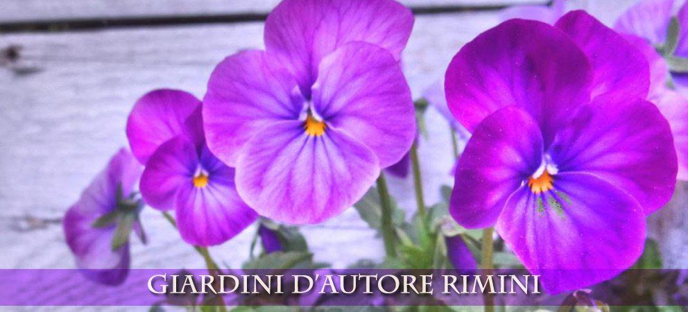 Giardini d'autore a Rimini