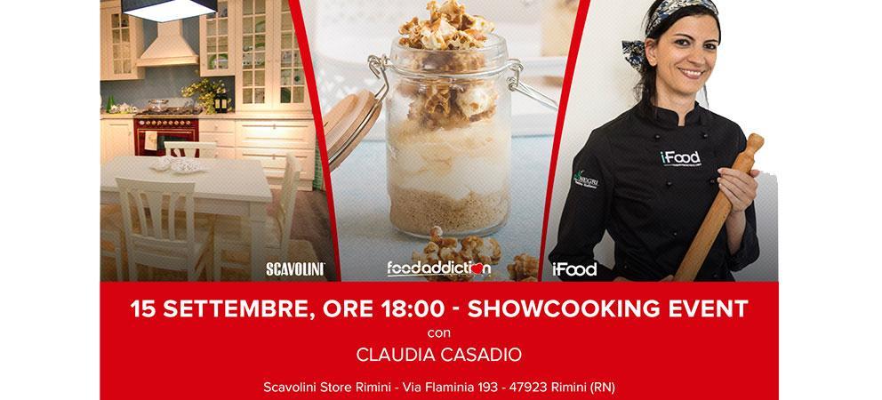 Sabato 15 Settembre - Dolci ricette in barattolo con la blogger Claudia Casadio