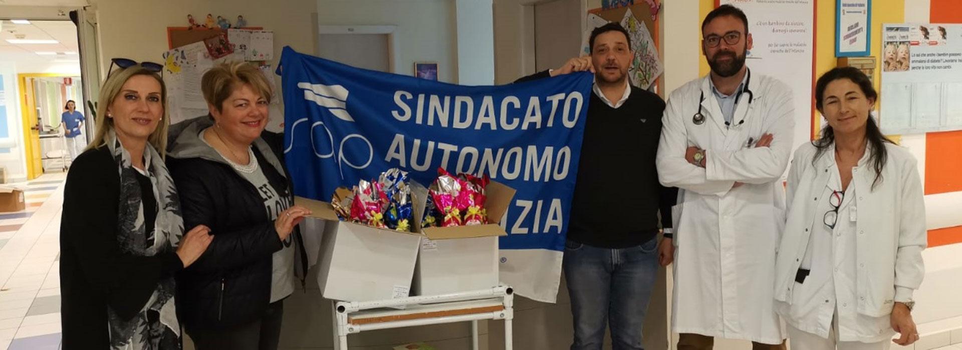 Pasqua della solidarietà: il Sindacato Autonomo di Polizia di Rimini a casa Sant'Anna