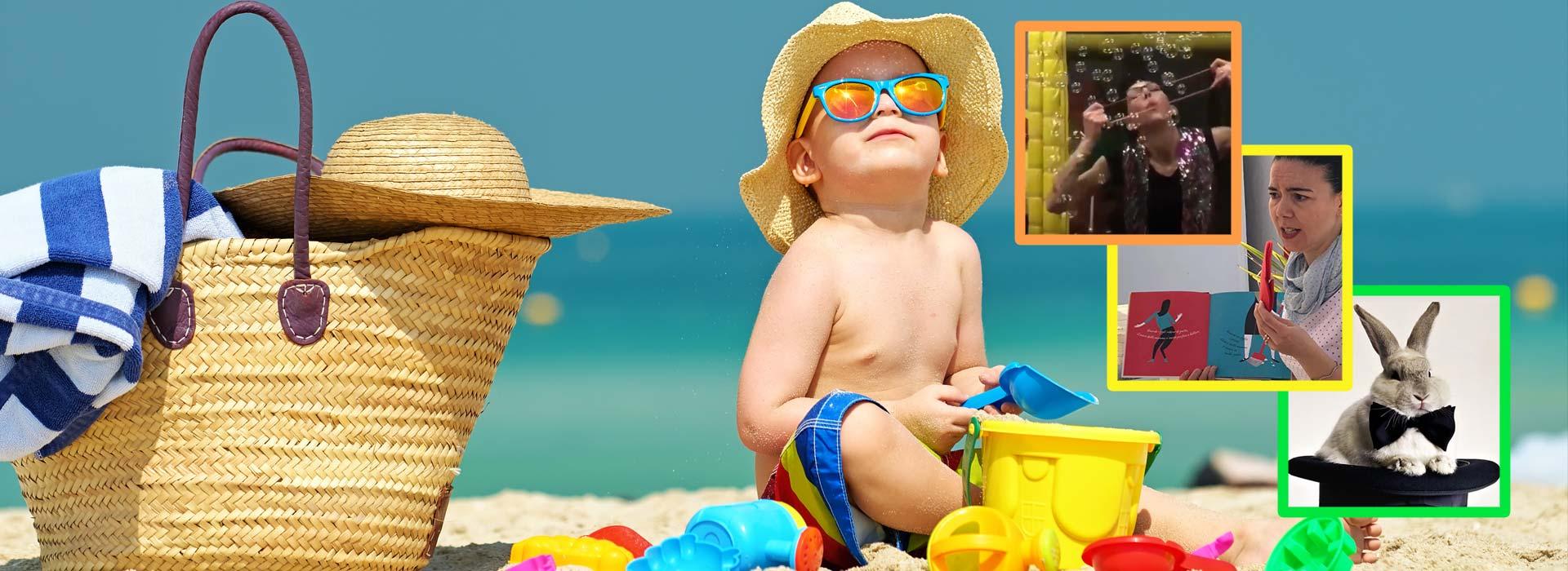 Feste gratuite per bambini in spiaggia